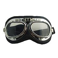 Windproof Leather Skiing Goggle
