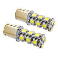 Ba15s/1156 4W 18x5050SMD 330LM 5500-6500K Cool White Light LED Bulb for Car (12V,2pcs)
