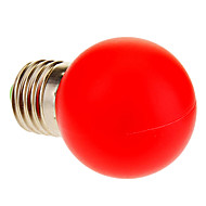 E26/E27 1W 12 40 LM Red LED Globe Bulbs AC 220-240 V