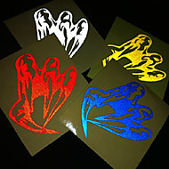 Bicycle Ghost Claw Hand Reflecterende Kenmerk Sticker