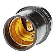 Droplight E27 portalampada (Nero)