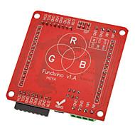 60mm Vollfarb-RGB-LED-Punktmatrix-Display-Treiber-Platine Modul für kompatible w / (für Arduino)