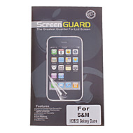 Professionele Clear Anti-Glare LCD Screen Guard Protector voor Samsung Galaxy Duos I8262D