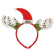 Coiffe Chapeau de Noël et en forme de corne de cerf pour Noël