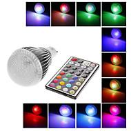 IR 원격 제어를 가진 GU10 9W 300LM RGB 라이트 LED 공 전구 (AC100-240V)