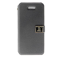 Solid Color Stylish PU Protective Full Body Case with Card Slot and Stand for iPhone 4/4S (Assorted Colors)