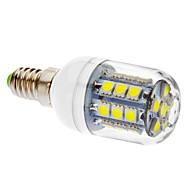 3W E14 LED Corn Lights T 27 SMD 5050 405 lm Cool White V
