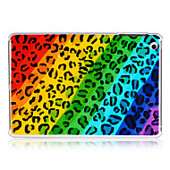 Diagonal Stripes Colorful Leopard Plastic Back Case for iPad mini 3, iPad mini 2, iPad mini
