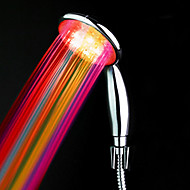 ABS Water Powered kleur veranderende led handdouche