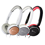 SENIC IS-R19PRO Headphone 3.5mm Over-Ear Headphone Setal Style Foldable for PC/iPhone/iPod/iPad/Samsung