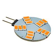 daiwl G4 5W 15x5630smd 330lm 2500-3500k lämmin valkoinen valo led spot lamppu (12v)