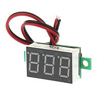 """V20D 0,56 """"LED à deux lignes 3-numérique directe actuelle Module voltmètre Meter - Blanc + vert (DC 2.5 ~ 30V)"""