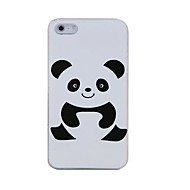 Cute Panda Plastic Back Case for iPhone 4/4S