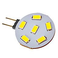 Faretti 6 SMD 5730 G4 2.5 W 120-150 LM 6000-6500 K Luce fredda V