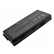 laptop-batteri for MSI BTY-L74 BTY-L75 MS-1682 A6000 91NMS17LD4SU1 91NMS17LF6SU1-Svart