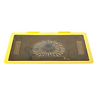 """N19 143mm Super Silent High Performance Laptop Cooling Fan (Up to 14"""" Inch)Yellow"""