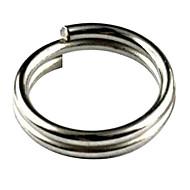 6mm 50 PCS Pack de acero inoxidable anillos partidos para Blank señuelos duro cebo de Crankbait