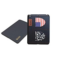 Special Design Jeans National Flag PU Leather Case with Stand for iPad Air
