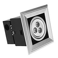 Einbauleuchten 3W 300 LM 6000 K 3 High Power LED Kühles Weiß AC 85-265 V