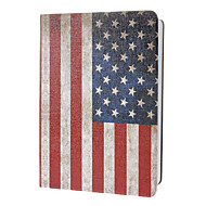 Retro Style America Flag Pattern Full Body Case with Stand for iPad Air