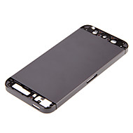 Gray Hard Metal Alloy Back Battery Housing For iPhone 5s