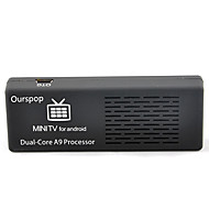 Ourspop MK808B Dual Core Android 4.1 Google TV Player Bluetooth 1GB 8GB ROM RAM TF HDMI