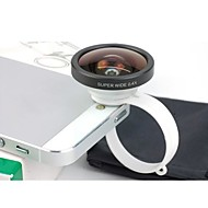 Universal Circular Clamp 0.4X Super Wide Angle Camera Lens for iPhone 4/4S/5
