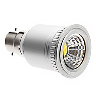 B22 7 W COB 560 LM Cool White Dimmable Spot Lights AC 220-240 V