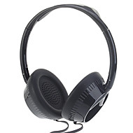KE-500 Auriculares estéreo para PC / Media Player (Blanco, Negro)