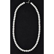 Classic 8mm Cream Pearl Necklace