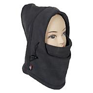 Balaclava Unisex Outdoor Windproof Dark Gray Polar Fleece Cycling Mask
