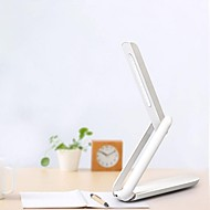 USB Rechargeable 5W 6000K Portable Folding 12-LED Desk Lamp Table Light w/ Touch Switch