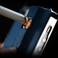 Projeto especial Pureza Metal Padrão com função Lighter Case Voltar para o iPhone 5/5S (cores sortidas)