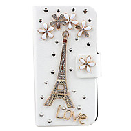 Tower Pattern Design Full Body Case for iPhone 4/4S
