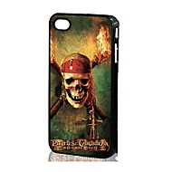 3D Skull Pattern Silicone Hard Case iPhone 4/4S