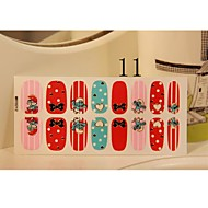 New Arrival Summer Nail Art Cartoon Stickers With 3D Bow knot