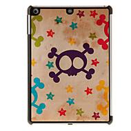 Skull Pattern PC Hard Case for iPad Air