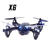 La caméra et la lumière de X6 2.4G 4CH RC Quadcopter en vert