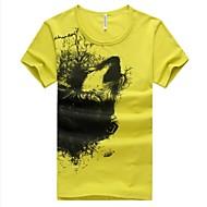 Men's Summer Fashion Round Neck Short Sleeve T-shirt