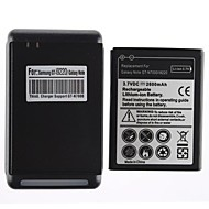 2600mAh batteri og USB-lader for Samsung Galaxy Note GT-N7000/i9220