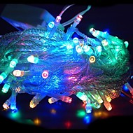 100 LED 10m multicolore décoration de corde de lumière pour le mariage de fête de Noël (220)