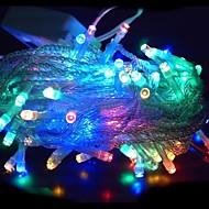 100 LED 10m Multi-color String Decoratie licht voor Kerst Feest Bruiloft (220V)