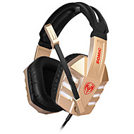 Somic G928VIP  Stereo Gaming USB 7.1 Sound Channel Over-Ear Headphone with Mic and Remote for PC