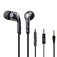 Lizu 512 Headphone In-Ear com microfone para computador / telemóvel