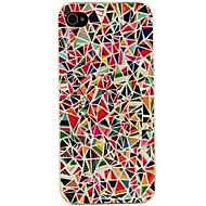 vormor® fargerike trekanter mønster sak for iPhone 5 / 5s