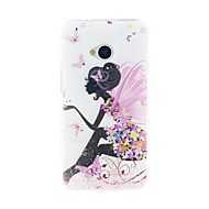 For HTC Case Rhinestone Case Back Cover Case Sexy Lady Soft TPU HTC