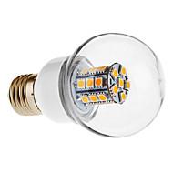 daiwl e27 27x5050 smd 450-500lm 3000-3500k sıcak beyaz ışık topu ampul led 5w (220v)