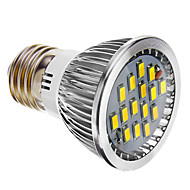 E26/E27 5.5 W 15 SMD 5730 400 LM Cool White Dimmable Spot Lights AC 220-240 V