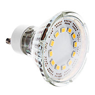 GU10 1 W 12 SMD 2835 120-140 LM Warm White Spot Lights AC 220-240 V