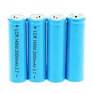 2000mAh 14500 Battery (4pcs)